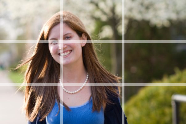 portrait rule of thirds